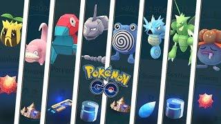 ¡The 8 evolutionary rock or evolutionary item in Pokemon GO! Keibron Gamer