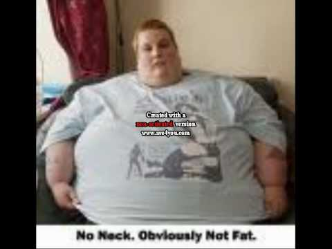 Apologise, ugly fat person