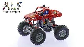 Lego Technic 42005 Monster Truck - Lego Speed Build Review