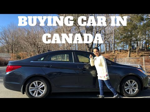 Buying Car in Canada-Indian Vlogger In Canada
