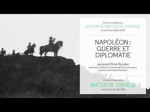 Conférence du 14/06/2018 : Napoléon - guerre et diplomatie