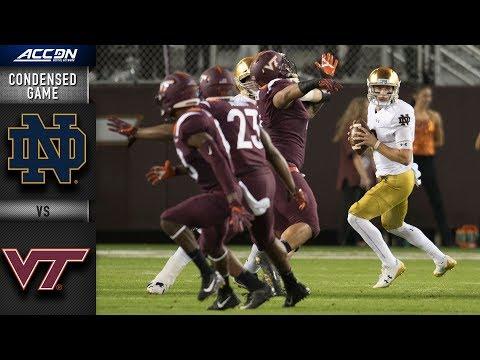 Notre Dame vs. Virginia Tech Condensed Game (2018)