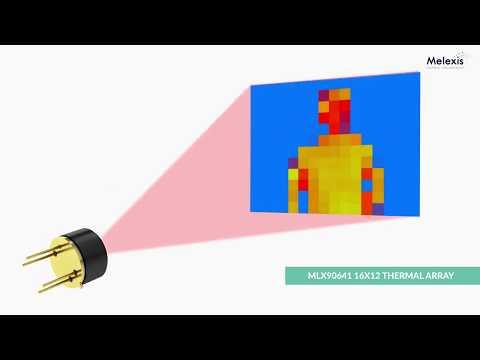 Melexis' High Operating Temperature Far Infrared (FIR) Thermal Sensor Array (MLX90641)