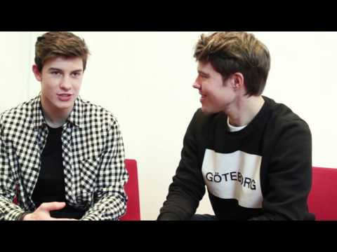 #AskShawnMendesSweden with Andreas Wijk and Shawn Mendes - Part 2