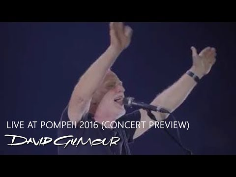 David Gilmour - Live at Pompeii CD/DVD (Trailer)