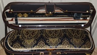Musafia Enigma Leggero violin case