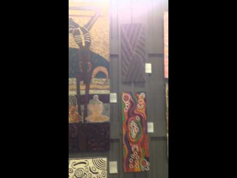 Aboriginal Art at Luxperience 2014 in Sydney, Australia