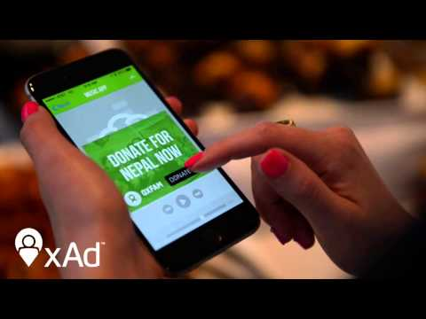 xAd Helps Oxfam America Make Nepal Relief Efforts Feel Local
