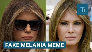 Here's why people think Melania Trump was replaced by a body double — and why they're wrong