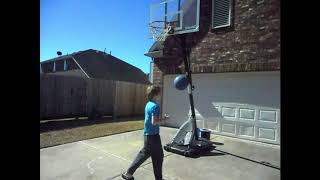 *AMAZING* Kid Jedi Keeps Pro Basketball Player From Scoring!