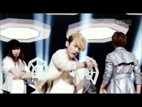SHINee [낯선자] @SBS Inkigayo 인기가요 20120325