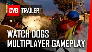Watch Dogs - 9 Minutes of Multiplayer Gameplay [PS4 1080p]