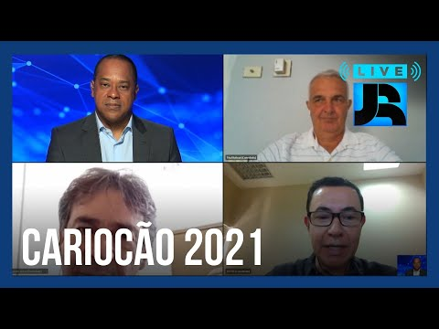 Live JR: Tita e Paulo Victor falam da expectativa para a decisão do Campeonato Carioca