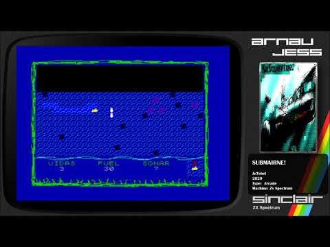 SUBMARINE! Zx Spectrum by je7ebel