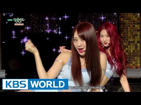 9MUSES - Hurt Locker | 나인뮤지스 - 다쳐 [Music Bank COMEBACK / 2015.07.03]