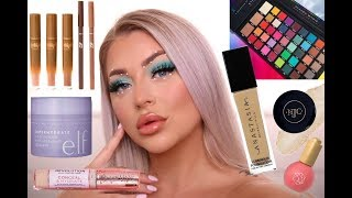 FULL FACE TRYING NEW MAKEUP | EUPHORIA STYLE