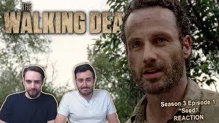 """The Walking Dead Season 3 Episode 1 Reaction """"Seed"""""""