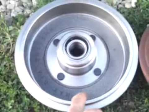 Rear Wheel Bearing Replacement Cost >> 2002 focus rear wheel bearing change - YouTube