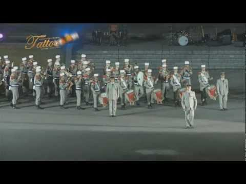 TATTOO MILITAR CHILE 2012 PRESENTACIÓN LEGION EXTRANJERA