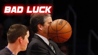 Unlucky Moments in Basketball