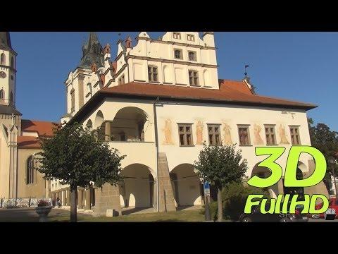 [3DHD] Walking Tour: Levoca, Slovakia / Pěší výlet: Levoča, Slovensko / Spacer: Lewocza, Słowacja