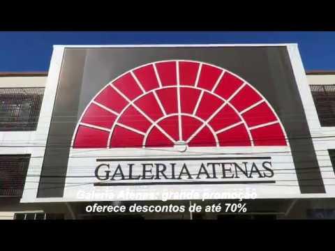 Galeria Atenas: descontos de até 70%