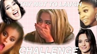FIFTH HARMONY TRY NOT TO LAUGH CHALLENGE!