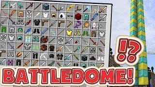 MINECRAFT LUCKY DIP MODDED BATTLEDOME MINIGAME - MINECRAFT MOD MINIGAME CHALLENGE #3
