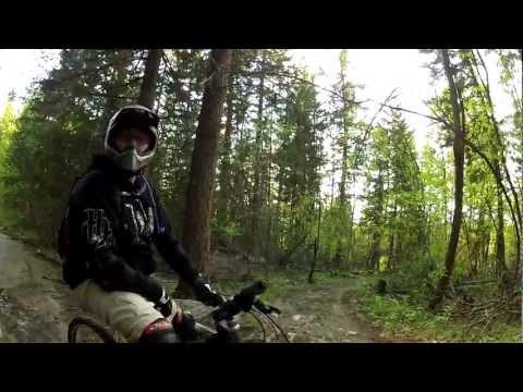 Mountain Biking - Kelowna, BC (Vapour Trail, Myra-Bellevue Park) May 2012