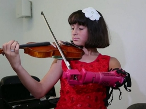 3D Printing Boosts Dreams of Student Violinist