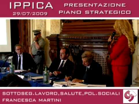 On  Francesca Martini, pres  piano strategico per l'ippica