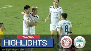 Highlights: Văn Thanh, Hồng Duy ghi bàn giúp HAGL đánh bại Á Quân V.League 2019