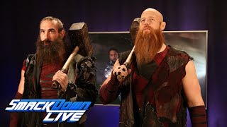 The Bludgeon Brothers have a message for The Usos: SmackDown LIVE, Feb. 13, 2018
