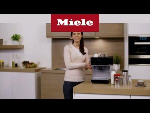 Så här använder du fristående kaffemaskin Miele CM6