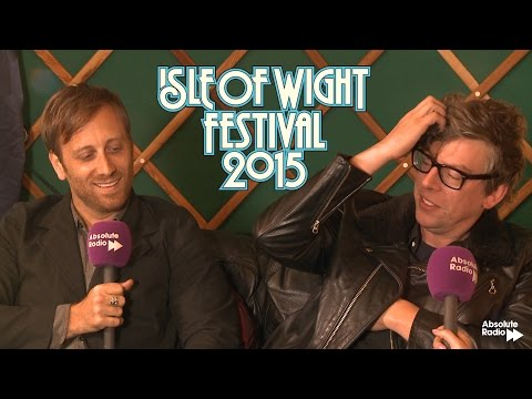 Black Keys Interview | Isle of Wight Fest 2015