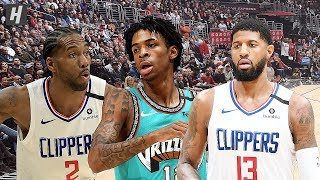 Memphis Grizzlies vs Los Angeles Clippers - Full Highlights | February 24, 2020 | 2019-20 NBA Season