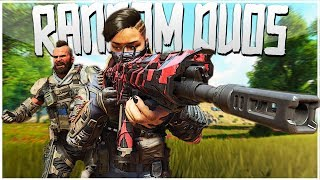 My Random Teammate is a MONSTER! - PS4 Pro Blackout Random Duos Game!