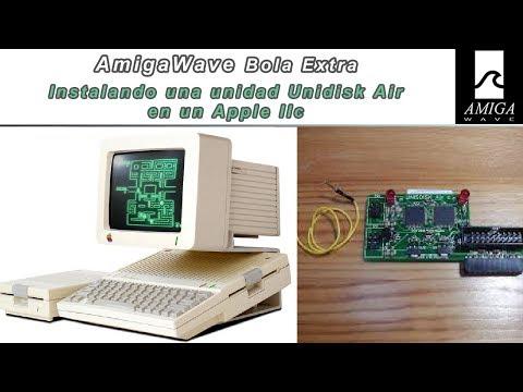 Bola Extra - Instalando Unidisk Air en Apple IIc