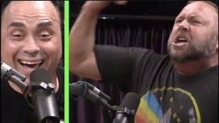 Alex Jones GOES OFF on Eddie Bravo | Joe Rogan