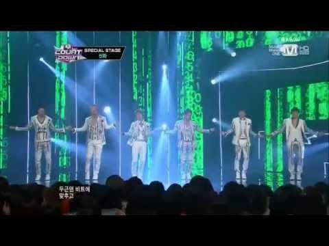 130613 M!COUNTDOWN SHINHWA-트리플크라운 소감+This Love(Goodbye stage)