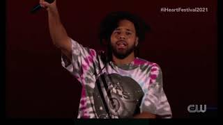 J. Cole full performance at iHeartRadio Festival 2021