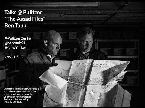 Talks@Pulitzer: Ben Taub on 'The Assad Files'