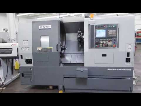 Hyundai - Kia SKT210SY CNC Turning Center w SubSpindle, For Sale At Machinesused.com