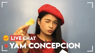 ECHO Or SAM? YAM CONCEPCION Takes Her Pick | MYX Live Chat