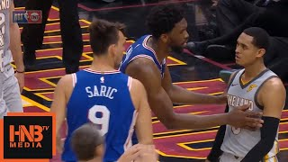 Jordan Clarkson Ejected From The Game / Cavaliers vs 76ers