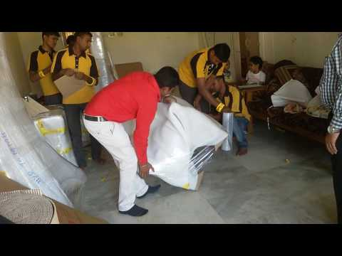 Agarwal Packers and Movers Sofa Packing Process