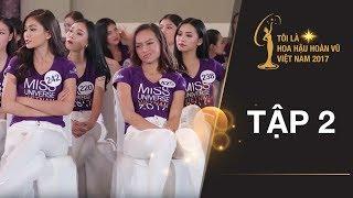 Hoa hậu Phạm Hương khiển trách Mai Ngô và các thí sinh vì thiếu kỷ luật | Miss Universe Vietnam 2017