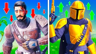 The *BROKE to RICH* Challenge in Fortnite!