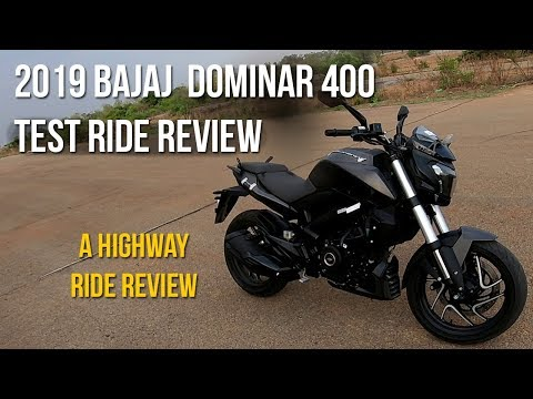 video Bajaj Dominar 400