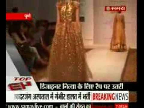 ABIL Pune Fashion Week on Sahara Samay